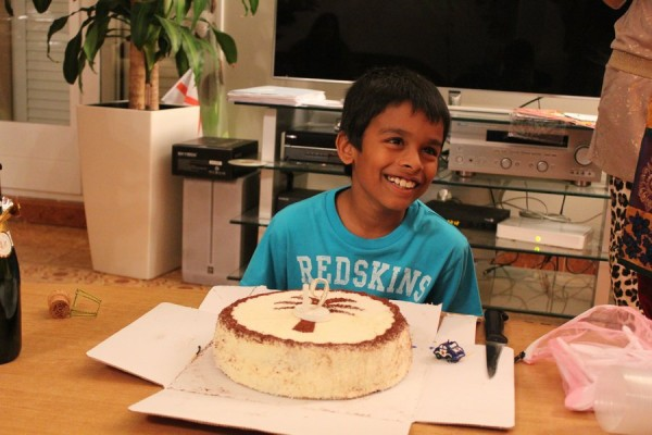 Ritik 9th Birthday - 2013