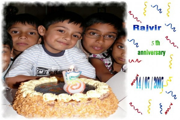 Rajvir 5th Birthday -