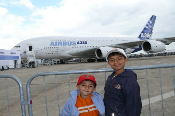 Visit of Paris Air Show