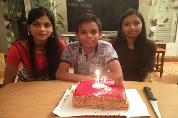 Ritik 12th Birthday -