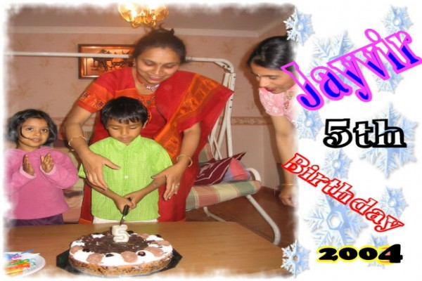 Jayvir 5th Birthday -