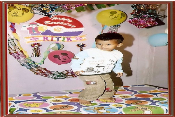 Ritik 2nd Birthday - 2006