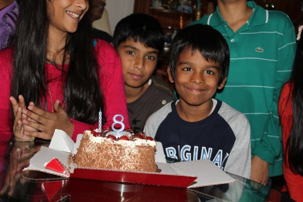 Ritik 8th Birthday - 2012