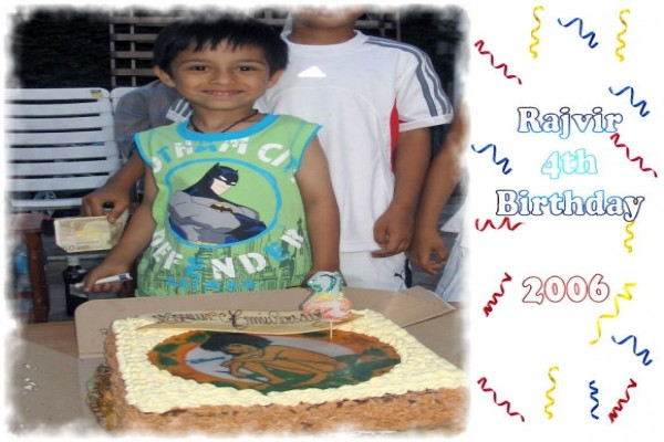 Rajvir 4th Birthday -