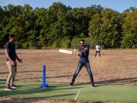Cricket party at Chantilly - July 2020