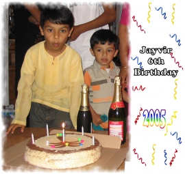Jayvir 7th Birthday - 2005