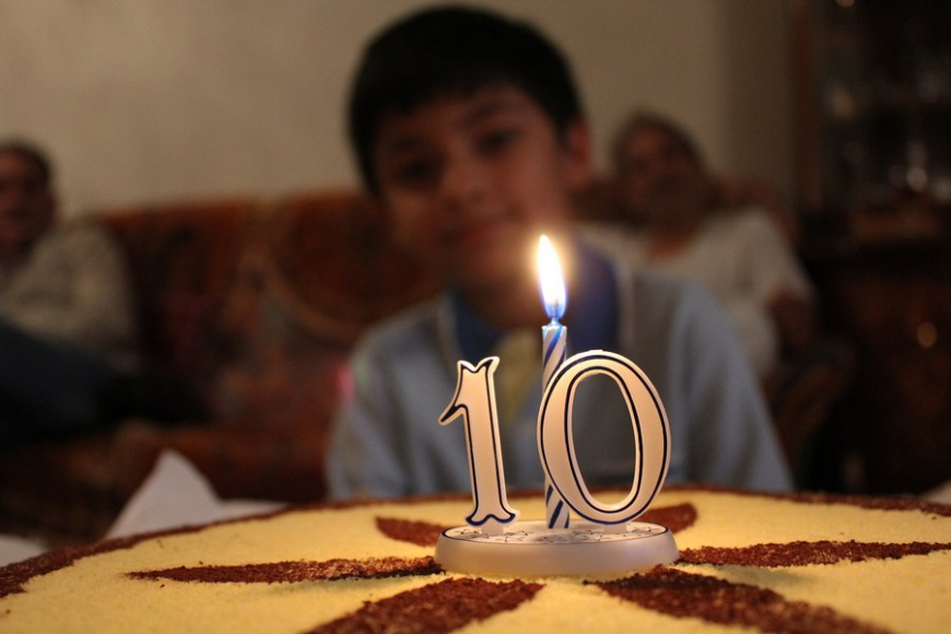Rajvir/Khushi 10th Birthday - 2012