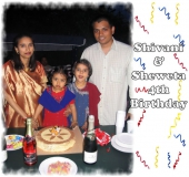 Shivani&Shweta 4th Birthday - 2004