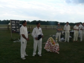 Cricket match in memory of Prasant - 2011