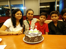 Manisha 36th birthday - 2015