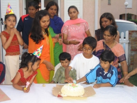 Rajvir 3rd Birthday - 2005