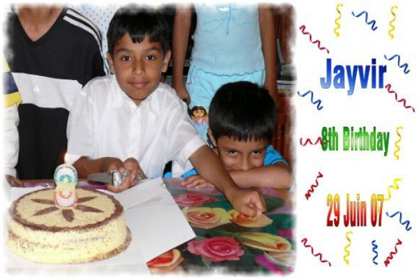 Jayvir 8th Birthday -