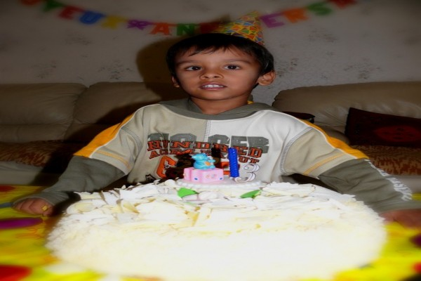 Ritik 3rd Birthday - 2007