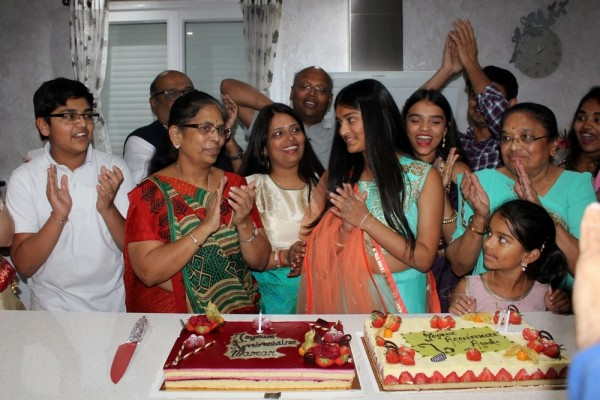 Ayushi 14th Birthday -